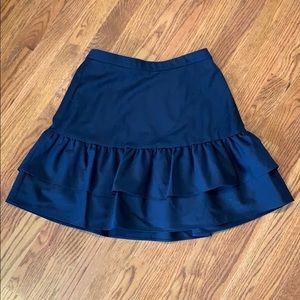 J. Crew Ruffle Mini Skirt